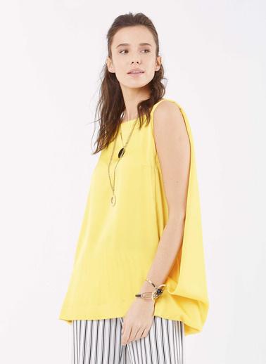 Roman Bluz Sarı